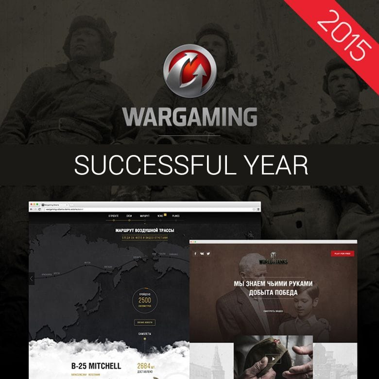 WARGAMING – A year of successful collaboration